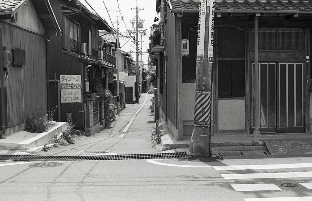漁師町の小路