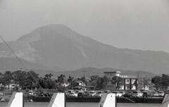 長浜から見える伊吹山