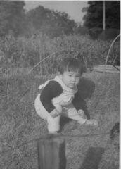 昭和三十六年六月妹が生まれた。