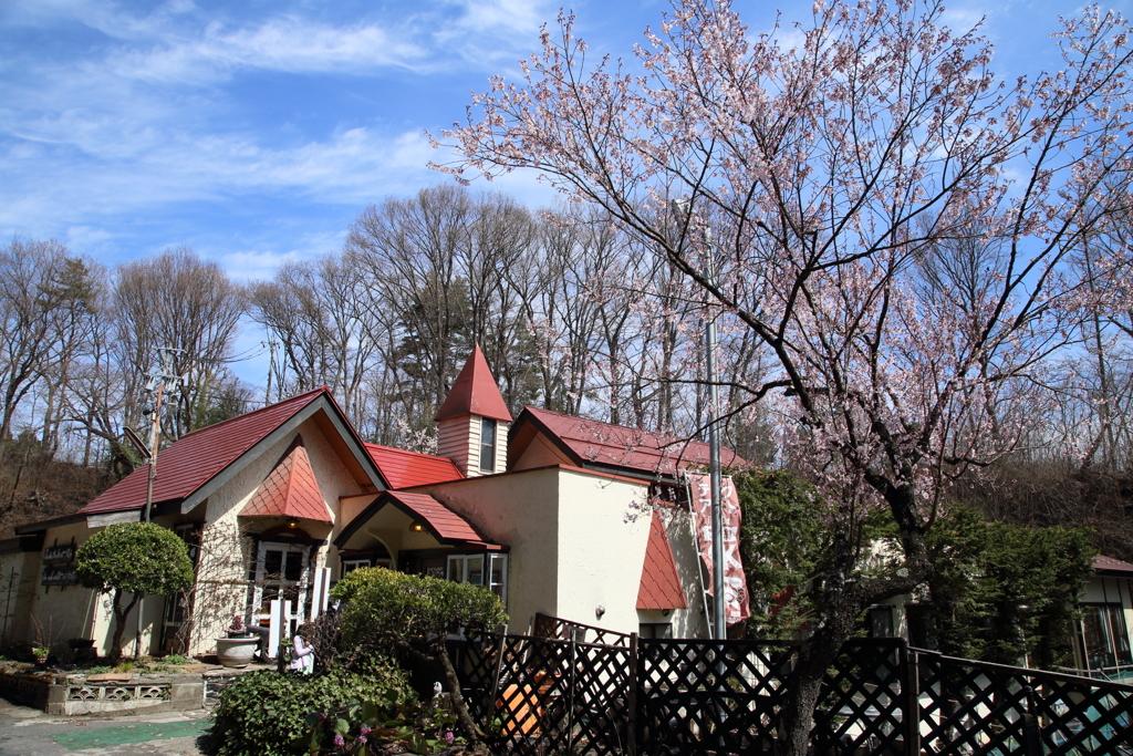 赤い屋根のレストラン