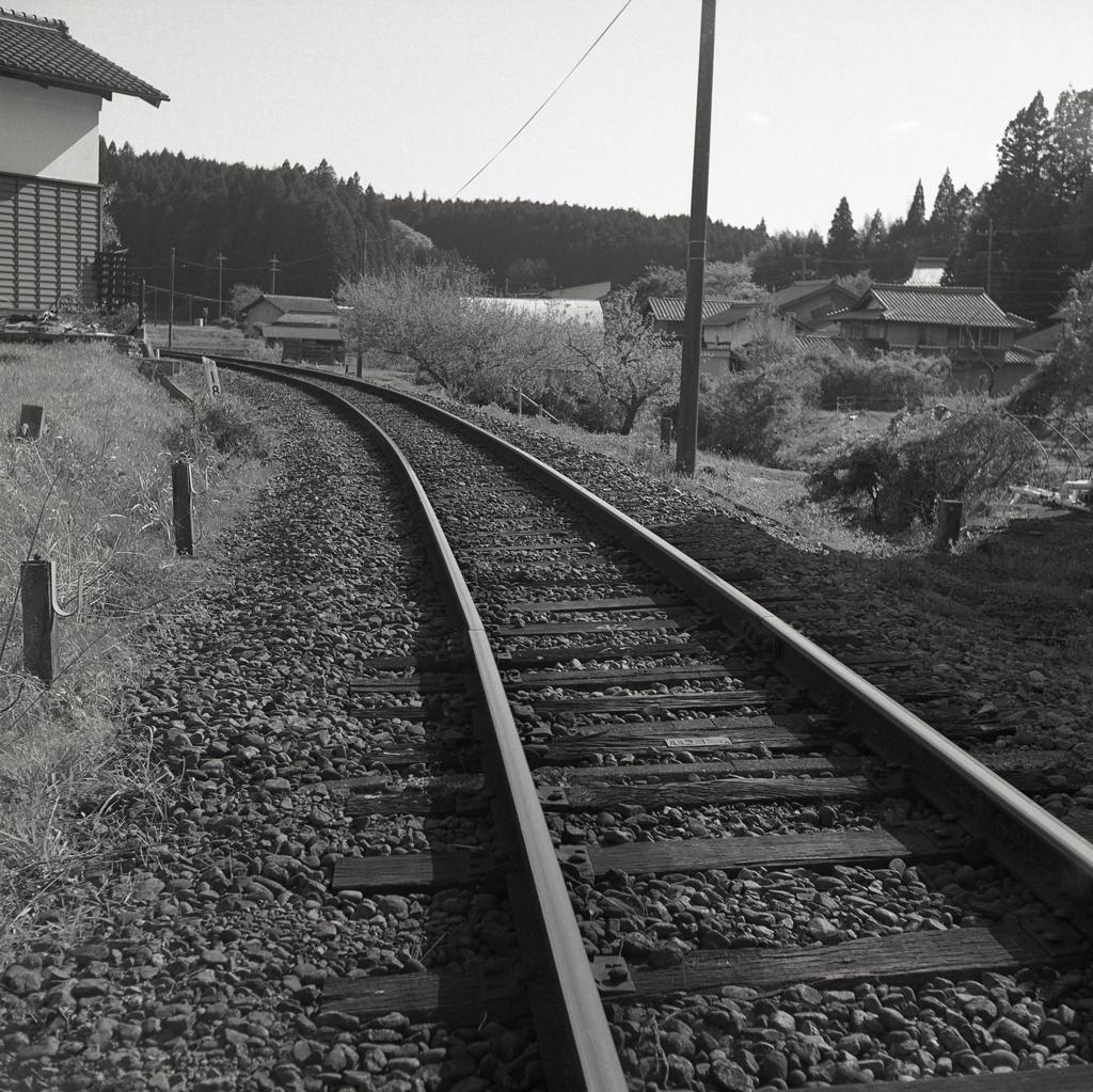 故郷むすぶ単線線路 ~鉄道のある風景