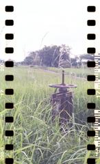 水路のハンドル