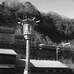 橋灯から定光寺駅