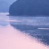 朝靄のボート