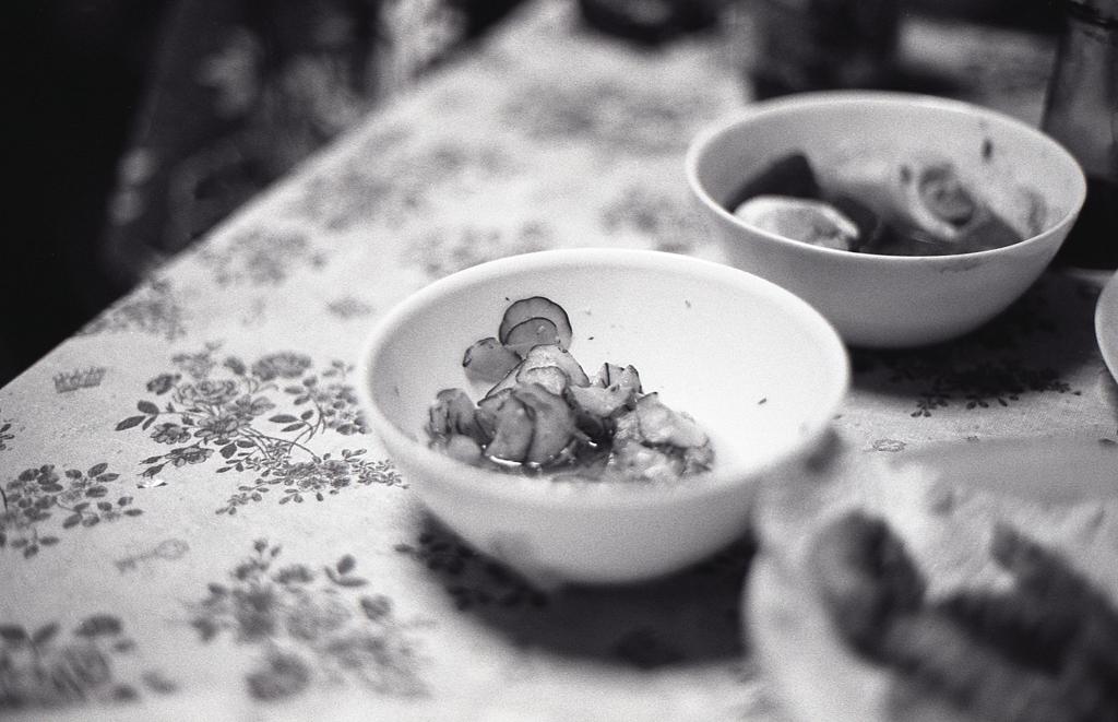 胡瓜の酢漬