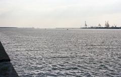 伊勢湾の風景