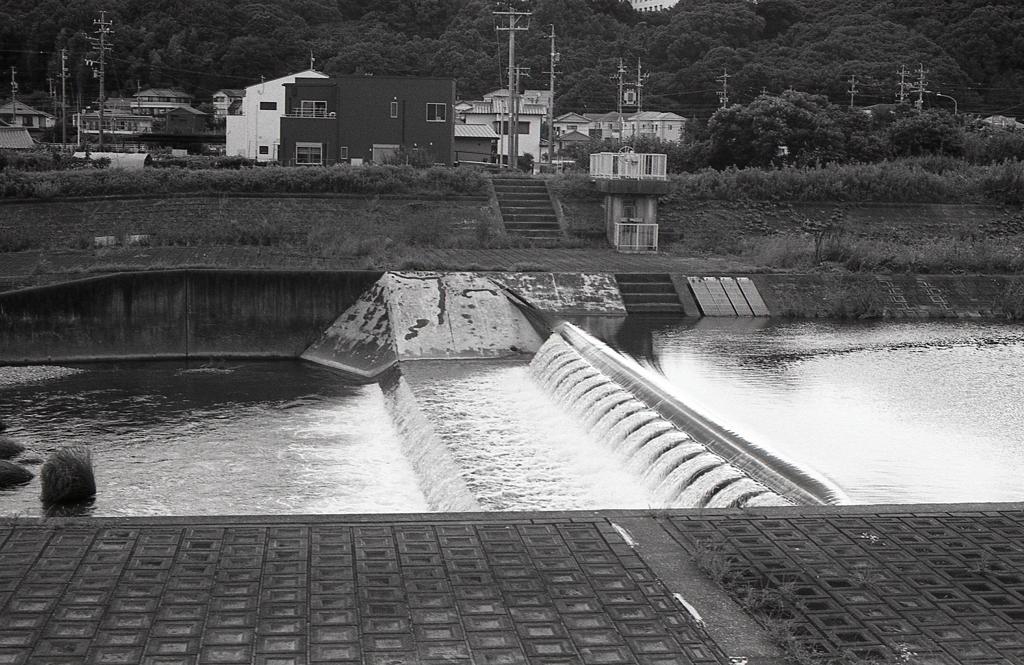内津川風景