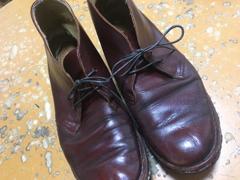 ついでに靴を磨いて完成!