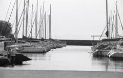 長浜のヨットハーバー