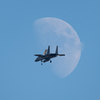 F15 in the MOON