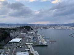 広島市街を望む
