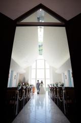 at church..
