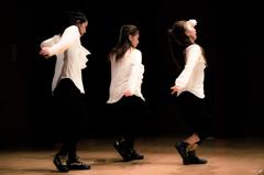 black music / white shirt..