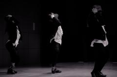 dancers in the dark..