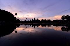 The Sunrise at Angkor Wat