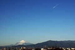新春の富士 その2