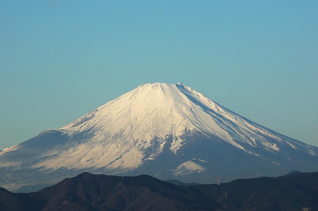 新春の富士