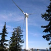 Grouse Mountainの巨大な風車