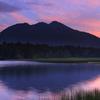 湿原を彩る空と水