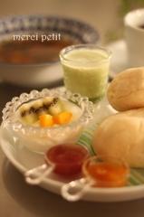 玉葱スープ モーニング