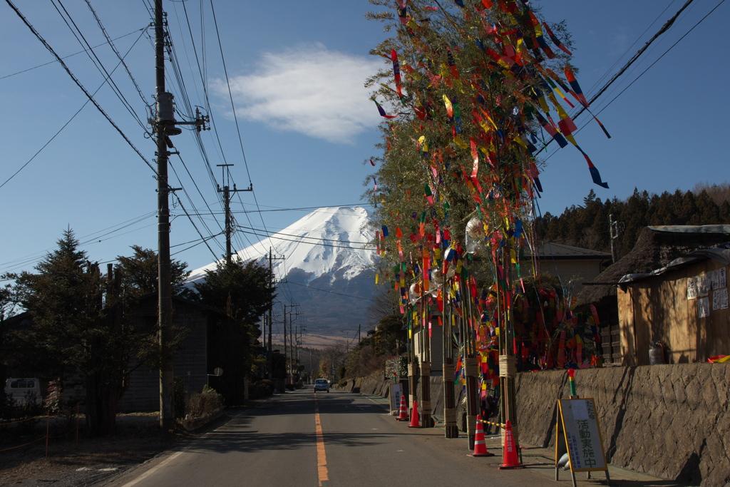 忍野村 道祖神祭り