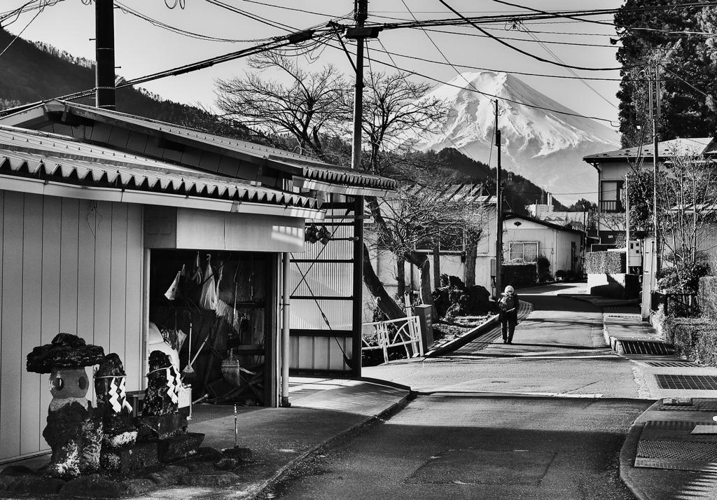 西桂 富士のみえる町