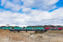 東北本線下り貨物列車