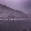 吹雪の北上線