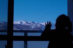 雪山に春を聞く