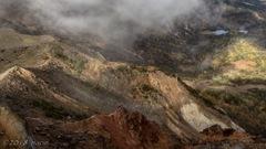 噴火口の錦