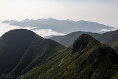 標津の峰々