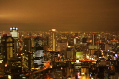 Umeda SKY building ミニチュア