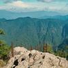 大峰連山と西大台