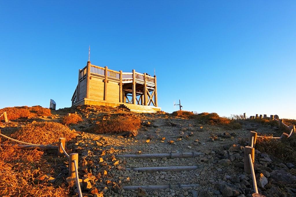 日出ヶ岳 展望台