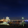 NIGHT at port of NAGOYA