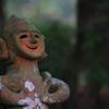 木陰で見つけた笑顔