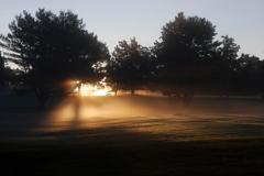 Sun in Mist 9-26-09
