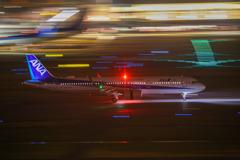 羽田空港1タミからの流し撮り#4