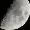 冬至の翌日の月(最大ズーム)