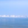 琵琶湖の低い雲