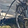 リアカー付き自転車