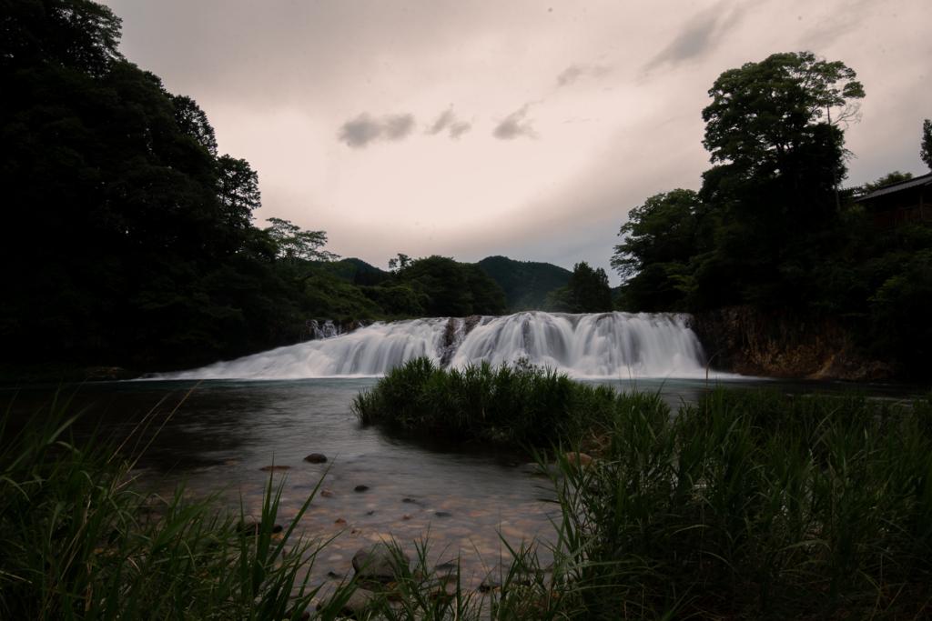 奥三河のナイアガラ/雨後