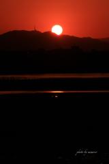地御前からの朝日