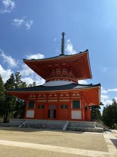 高野山の根本大塔
