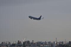 羽田空港からの離脱