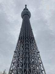 曇りの東京スカイツリー
