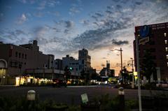 沼津の夕暮れ