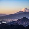 富士山と沼津アルプス