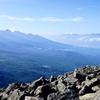蓼科山から見る八ヶ岳