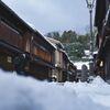 雪とひがし茶屋街